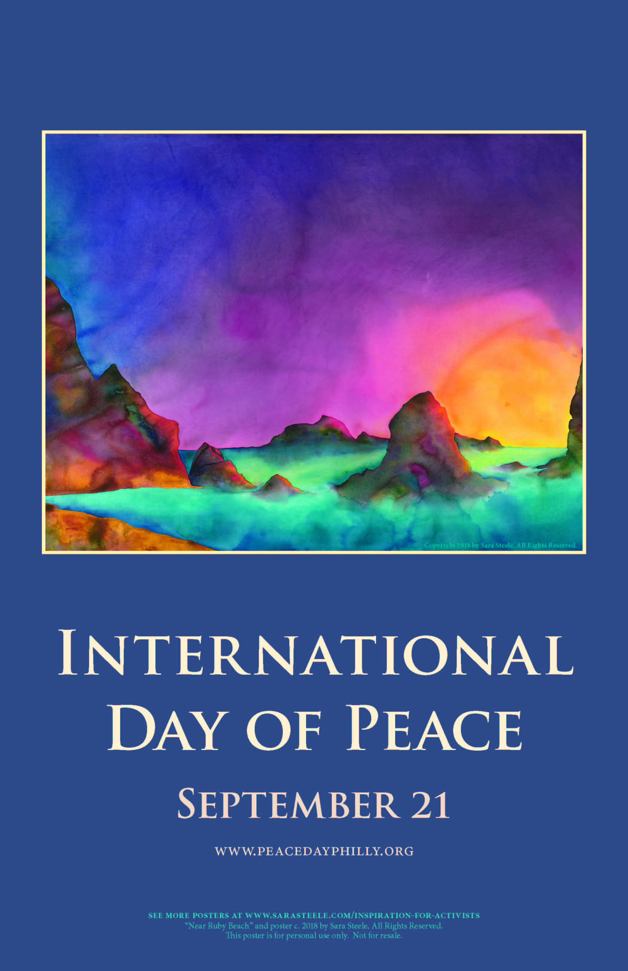 2018 Peace Day Poster